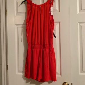 New York & Co Red Romper